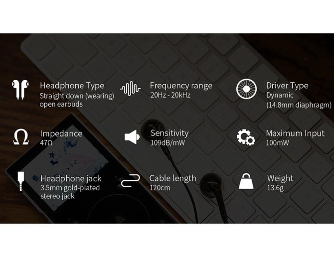 FiiO EM3S Open Earbuds