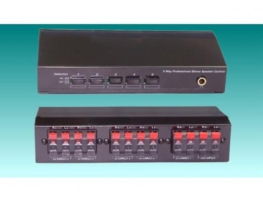 TCC TC-25 Selettore per 5 Diffusori Stereo [b-Stock]