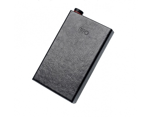 FiiO LC-Q1 II Cover in ecopelle per iPhone e FiiO Q1 Mark II