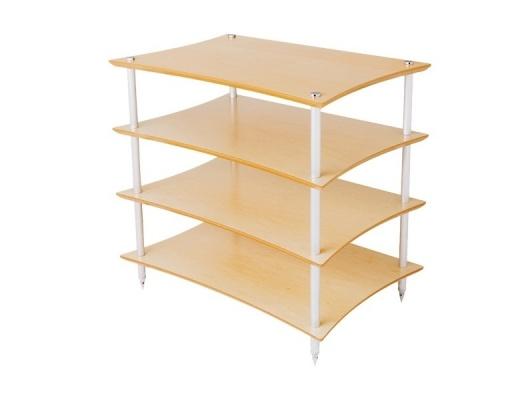 Quadraspire Q4EVO Four Shelves Hi-Fi Rack