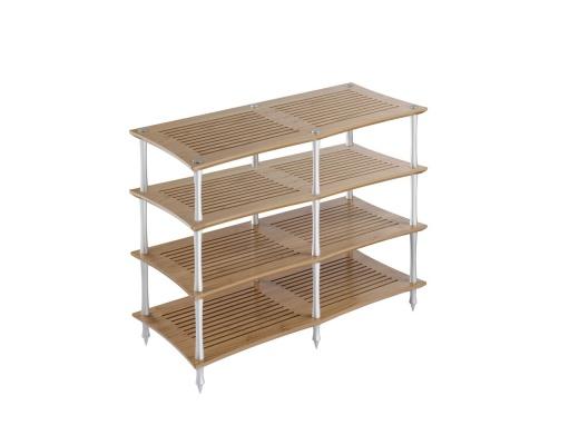 Quadraspire Sunoko-Vent 2T Bamboo Four Shelves Hi-Fi Rack