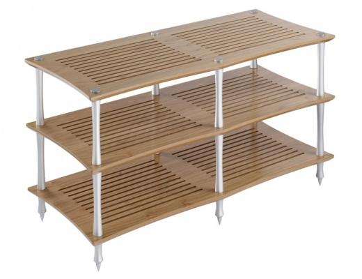 Quadraspire Sunoko-Vent 2T Bamboo Three Shelves Hi-Fi Rack