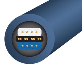 WireWorld Oasis 8 LBI XLR Balanced Audio Interconnects