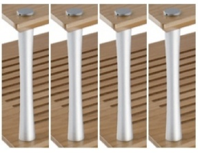 Quadraspire 32mm First Shelf Columns (Set of 4)