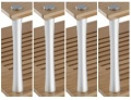 Quadraspire 32mm Third Shelf Columns (Set of 4)