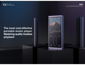FiiO M3K Ultraportable High Resolution Digital Audio Player - Silver