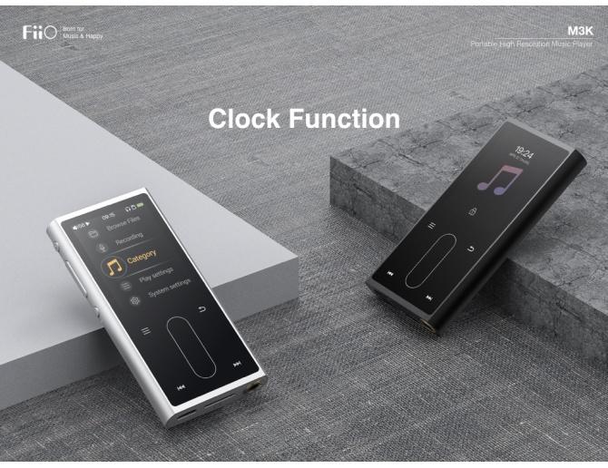 FiiO M3K Digital Audio Player Lettore Portatile ad Alta Risoluzione