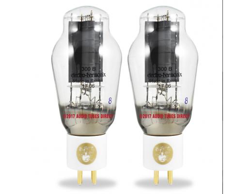 Valvola Electro-Harmonix 300B - Gold Platinum Matched