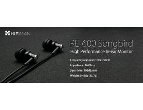 HiFiMAN RE600S V2 In-Ear Monitor/IEM [b-Stock]