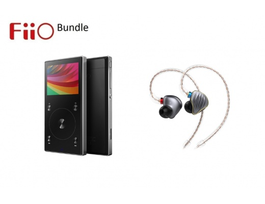 Bundle FiiO FH5 + FiiO X3 Mark III