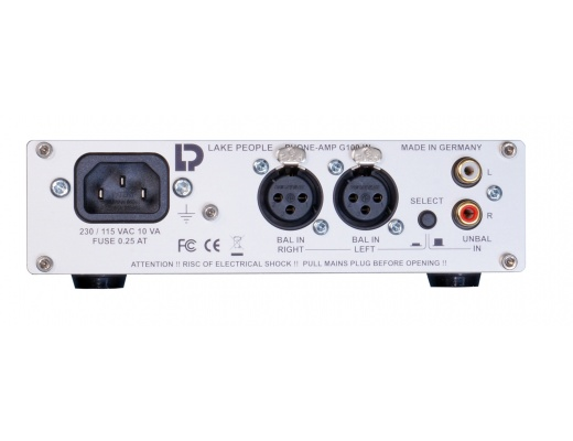 Lake People G100-W Headphone Amplifier