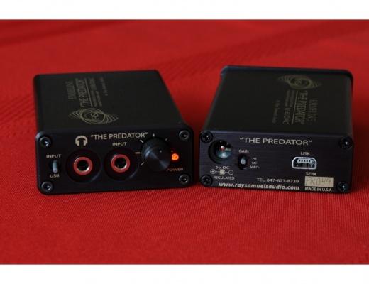 Ray Samuels PREDATOR Amplificatore portatile per cuffie DAC USB [usato]