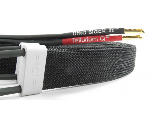 Tellurium Q Ultra Black II Speaker Cables