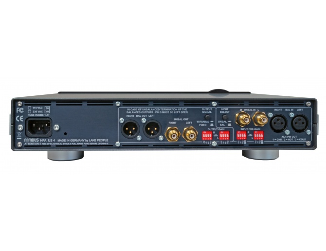 Niimbus US4 Amplificatore per cuffie con telecomando