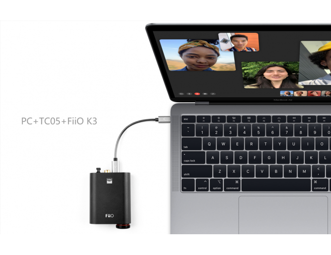 DD Electronics Tech USB Cable TC05 Type-C