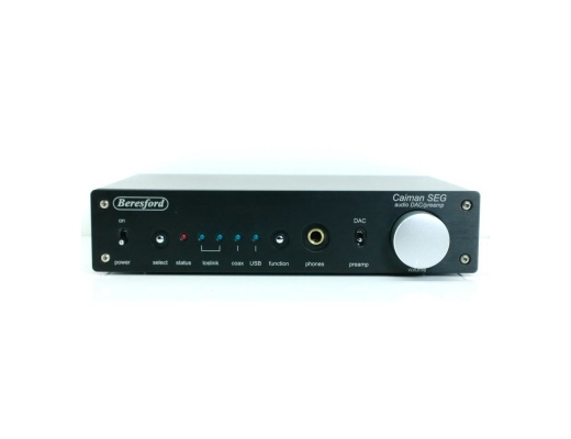 Beresford Caiman SEG USB-DAC & Digital Preamp [b-Stock]