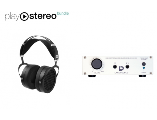 HiFiMAN Sundara Planar Magnetic Headphones + Lake People G100-W Headphone Amplifier