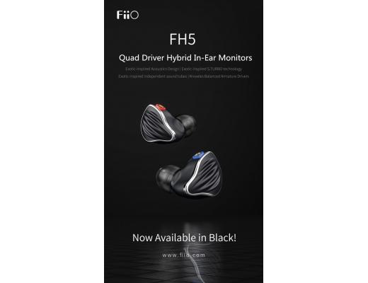 FiiO FH5 IEM Dynamic Quad Driver Hybrid
