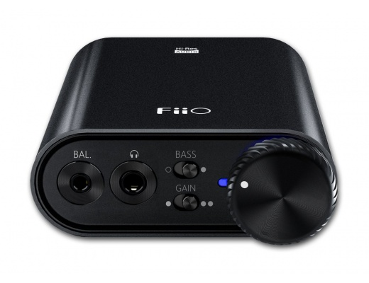FiiO K3 Desktop USB-C DAC with Headphone amplifier [b-Stock]