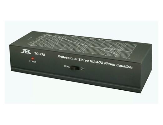 TCC TC-778 Preamplificatore Phono per 78 e 33 giri [b-Stock]