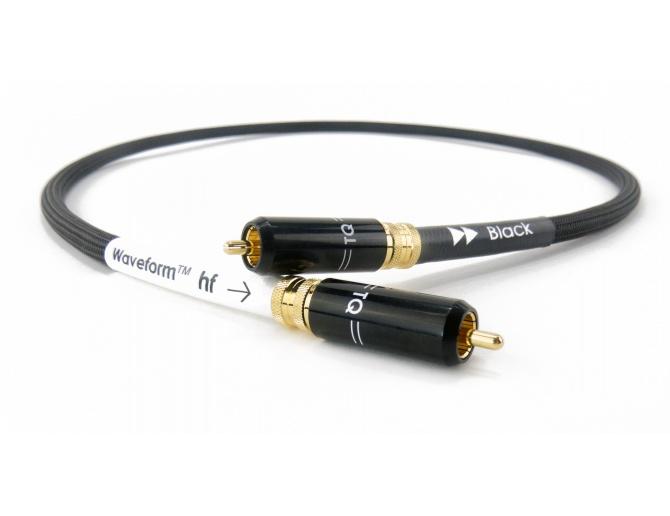 Tellurium Q Waveform™ hf Series Digital Black RCA Cavo digitale coassiale
