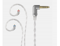 FiiO LC-2.5D/LC-4.4D/LC-3.5D High-Purity Monocrystalline Silver Litz IEM Cable