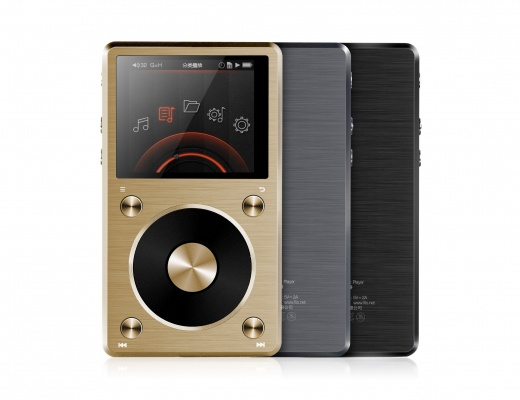 FiiO X5 2 Gen Digital Audio Player and USB DAC - Black [b-Stock]