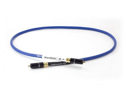 Tellurium Q Waveform™ II Series Digital Blue RCA Cavo digitale coassiale [b-Stock]