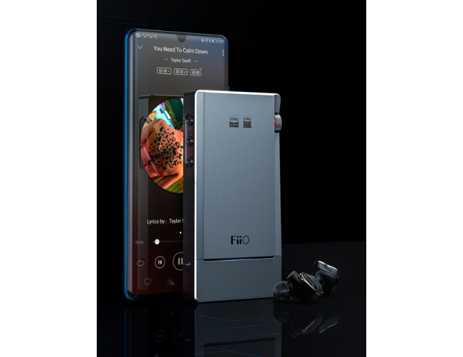 FiiO Q5s DAC Amplificatore con Dual DAC, Bluetooth DSD-capable Amplifier