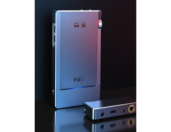 FiiO Q5s Flagship DAC/Amp with Dual DAC, Bluetooth DSD-capable Amplifier