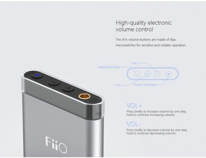 FiiO A1 Portable Headphone Amplifier [b-Stock]