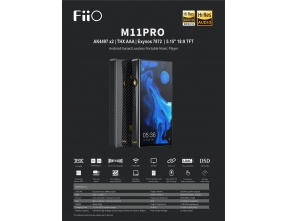 FiiO M11Pro Smart Android High-Res LosslessMusic Player