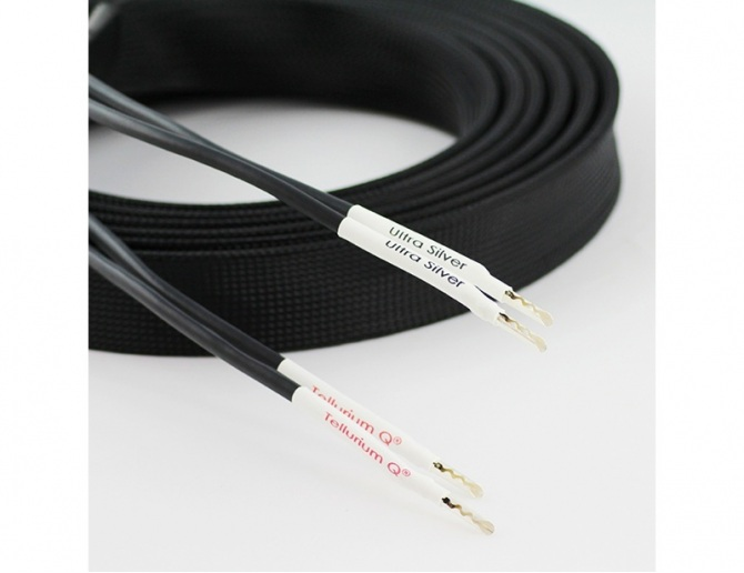 Tellurium Q Ultra Silver Speaker Cables