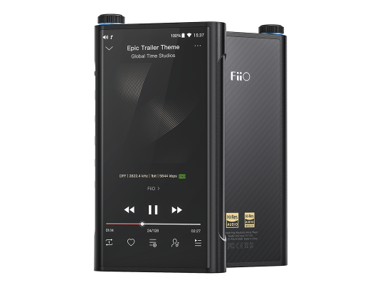 FiiO M15 Smart Flagship High-Res Music Player