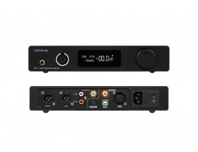 Topping DX7S 2*ES9038Q2M 32Bit/768K DSD512 DSD USB Full Balanced DAC Headphone Amplifier