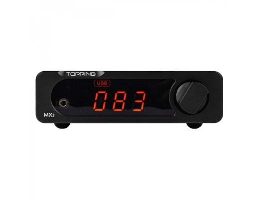 Topping MX3 T-Amp con DAC Bluetooth Uscita cuffia Telecomando [b-Stock]