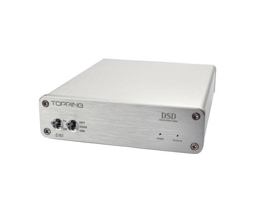 Topping D30 DSD Audio DAC XMOS USB CS4398 24Bit 192KHz