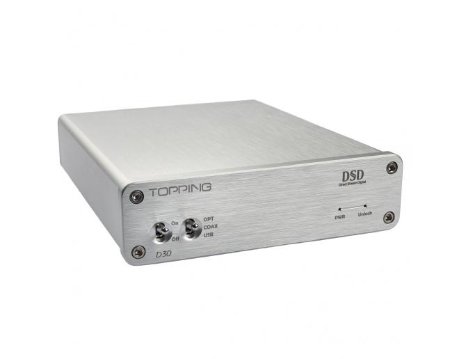 Topping D30 DSD Audio DAC USB Coaxial Optical Fiber XMOS CS4398 24Bit 192KHz Decoder