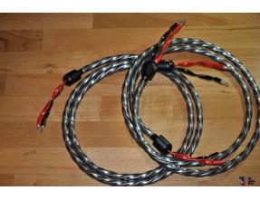 WireWorld Equinox 7 Coppia cavi di potenza (coppia da 2.5 mt terminata con bananine all'argento) [usato]