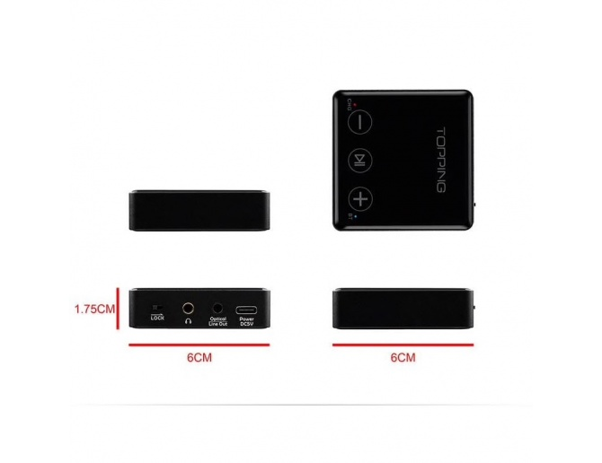 Topping BC3 Ricevitore Bluetooth LDAC con Line-Out