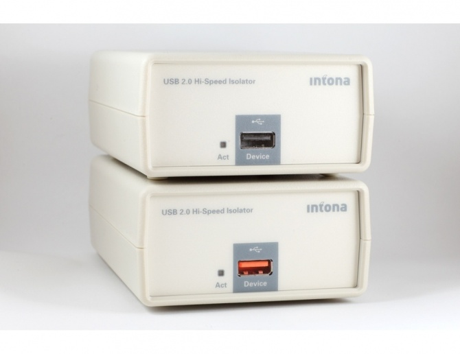 Intona 7054-X USB 2.0 Hi-Speed Isolator Industrial Version