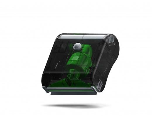 Flux Hi-Fi VINYL-TURBO 2.0 Spazzola ad aspirazione per dischi in vinile