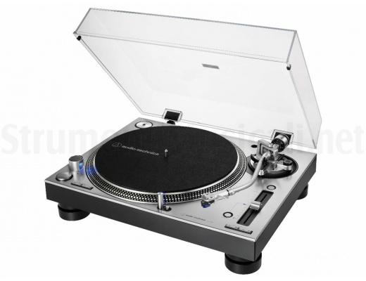 Audio Technica AT-LP140XP SV Giradischi professionale a trazione diretta (Silver)