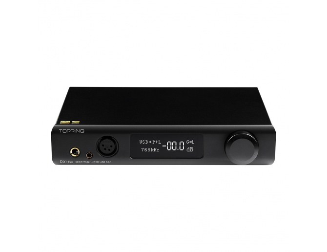 Topping DX7 Pro DAC with Headphone Amplifier