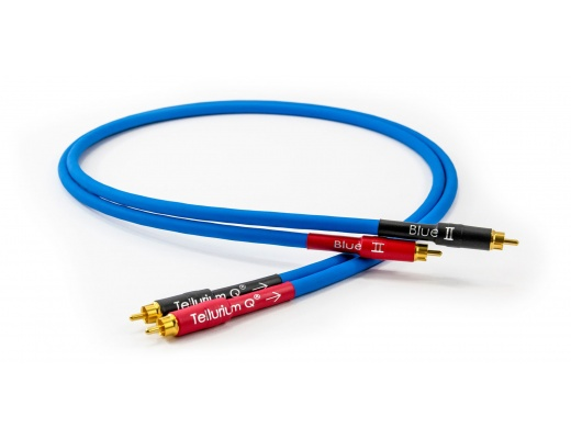 Tellurium Q Blue II RCA Interconnects