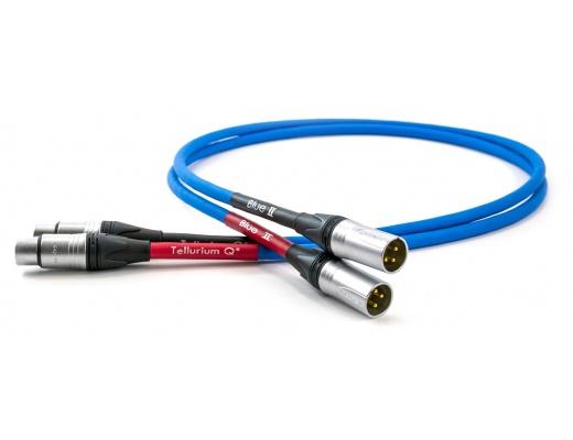 Coppia cavi di interconnessione Tellurium Q Blue II XLR bilanciati