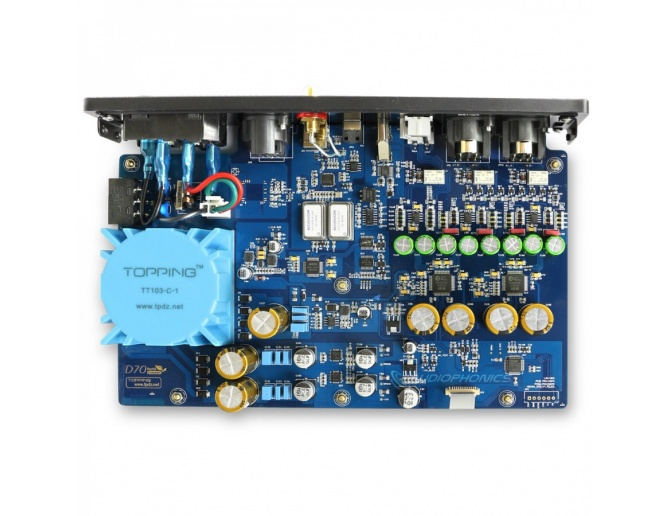Topping D70 Balanced DAC 2xAK4497 XMOS XU208 I2S 32bit 768kHz DSD512