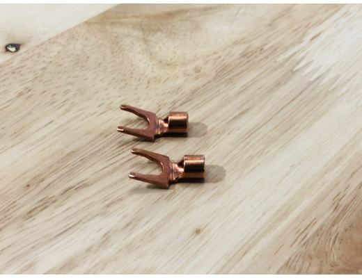 Playstereo High-Quality Copper Spades (Set of 2)