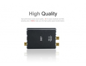 FiiO D07 TV Digital to Analog Audio Converter [b-Stock]