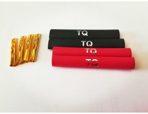 """Tellurium Q """"Z Plug"""" Beryllium-copper z Banana Plugs (set of 4)"""
